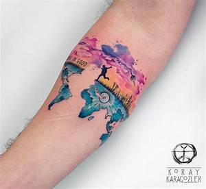 Travel Tattoo, A New Beginning | Best tattoo design ideas