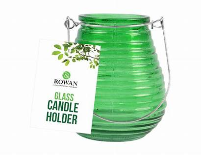 Coloured Glass Candle Holder Bright Holders