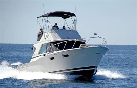 Chris Craft Type Boats by 1969 Used Chris Craft 35 Commander Sports Fishing Boat For
