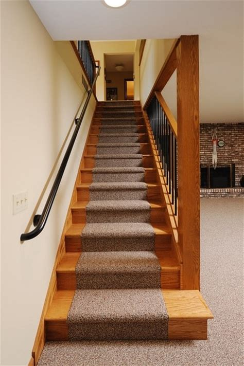 level stairs remodel traditional