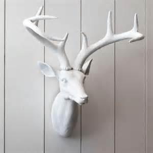 Wall decor resin stag head deer art design