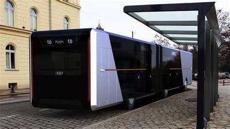 concept bus future audi city bus concept youtube