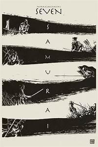 Awesome SEVEN SAMURAI Poster Design — GeekTyrant