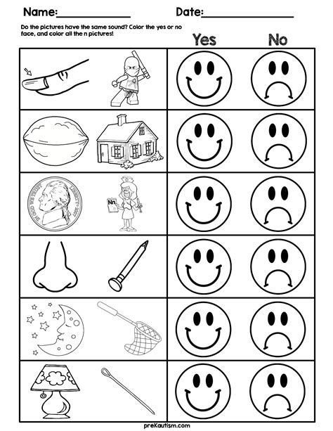 consonant sound match worksheets  images