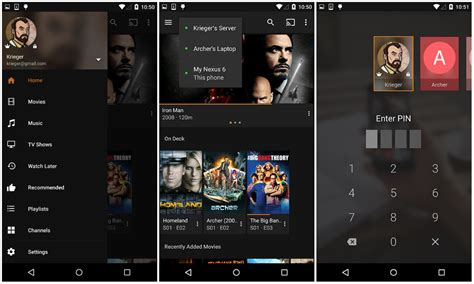 plex android tv plex version 4 0 update brings a reved ui increased