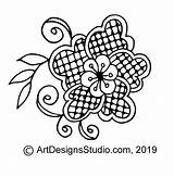 Doodle Wind Chimes Pattern Craft Lsirish Doodles sketch template