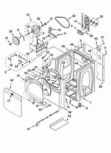 Cabinet Parts Diagram  U0026 Parts List For Model Medb200vq0