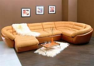 Canapé Angle Convertible Beige : le canap d 39 angle convertible en beige ~ Teatrodelosmanantiales.com Idées de Décoration