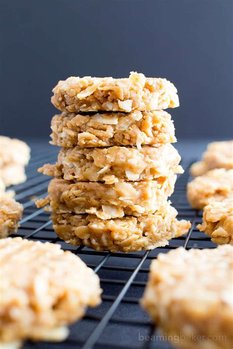 ingredient  bake peanut butter coconut oatmeal cookies