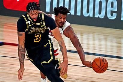 Lakers Heat Butler Davis James Finals Miami