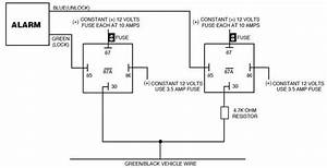 Ford Probe Single Wire Door Lock  Unlock Alarm System