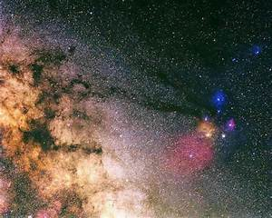 Antares-Rho Ophiuchus Complex and Ophiuchus Milky Way