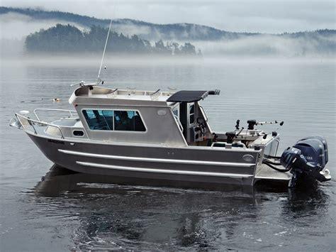 Fishing Boat Cabin by 25 Swiftsure Aluminum Cabin Boat By Silver Streak Boats
