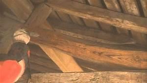 Poutre En Chene : decapage poutre chene par aerogommage sablage youtube ~ Premium-room.com Idées de Décoration
