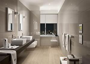 salle de bain carrelage noir et blanc With remontees odeurs salle de bain