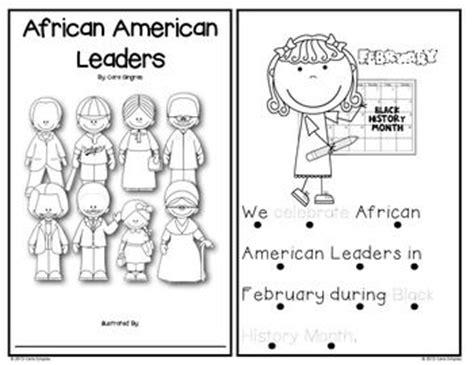 black history month kindergarten activities african american leaders emergent reader and activities
