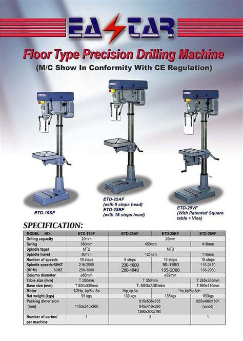 metal cutting machine tools drilling tapping mc  drill pressvertical drilletd
