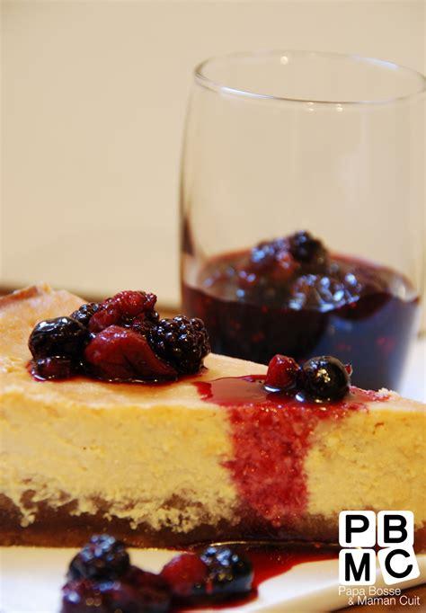 cheesecake 224 la ricotta et fruits rouges recettes de