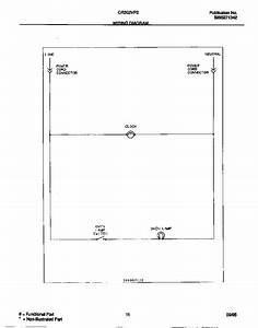 Wiring Diagram Diagram  U0026 Parts List For Model Cr302vp2w03