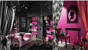 comment voir la vie en rose architecture interieure conseil With chambre baroque noir et rose