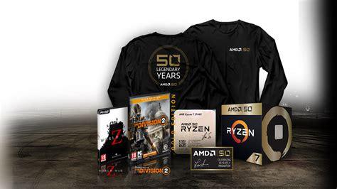 Amd Gold Edition Produkte Und Kostenlose Spiele Zum 50 Jährigen Jubiläum Amd
