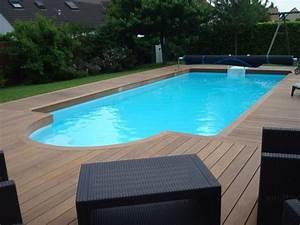 Tour De Piscine Bois : terrasse en bois orl ans 45 plage de piscine france ~ Premium-room.com Idées de Décoration