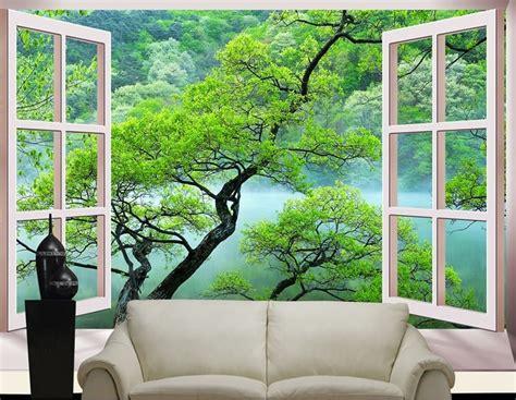 Custom 3d Stereoscopic Large Mural Bedroom Living Room