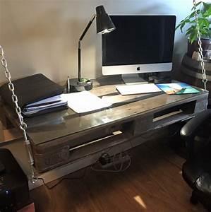Schreibtisch Selber Gestalten : 1001 ideen f r schreibtisch selber bauen 21 ideen aus paletten ~ Markanthonyermac.com Haus und Dekorationen