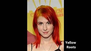 Hayley Williams hair colors 2005-2012 - YouTube