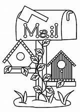 Coloring Bird Pages Mail Box Under Lunch Books Find Print Place Printable Fresh Getcolorings Getdrawings Tocolor sketch template