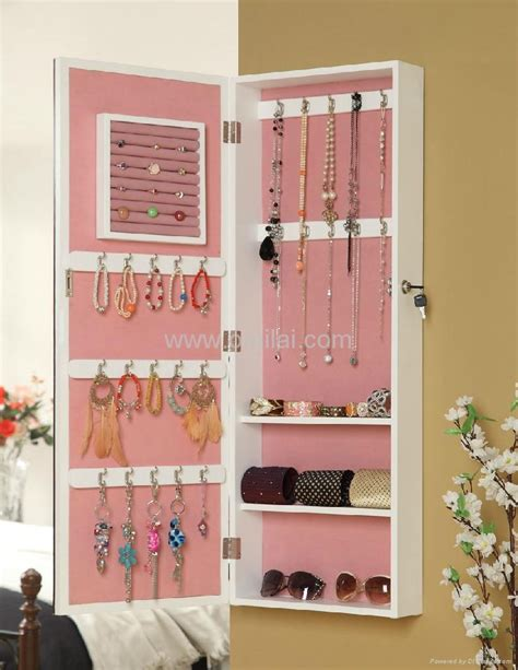wall mount jewelry armoire wall mounted dressing mirror jewelry armoire 410301