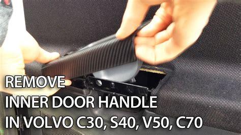 remove door  handle  volvo