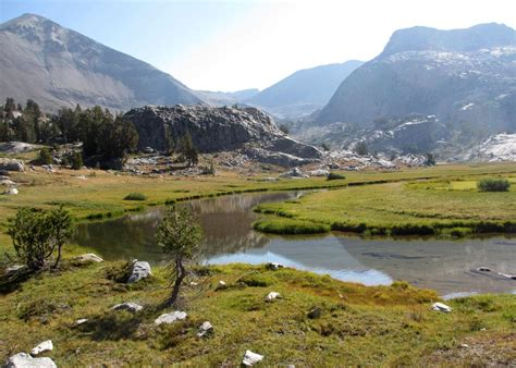 supported trekking  john muir wilderness sierra club