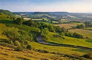 English Countryside Wall Mural