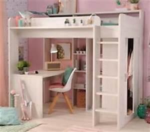 Kinderbett Mit Schreibtisch Und Kleiderschrank : hochbett schreibtisch schrank m bel ebay ~ Markanthonyermac.com Haus und Dekorationen