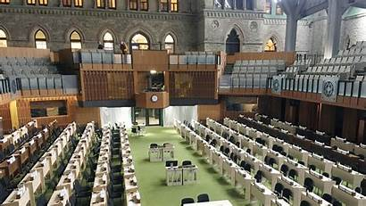 Parliament Block West Commons Ottawa Temporary Renovated
