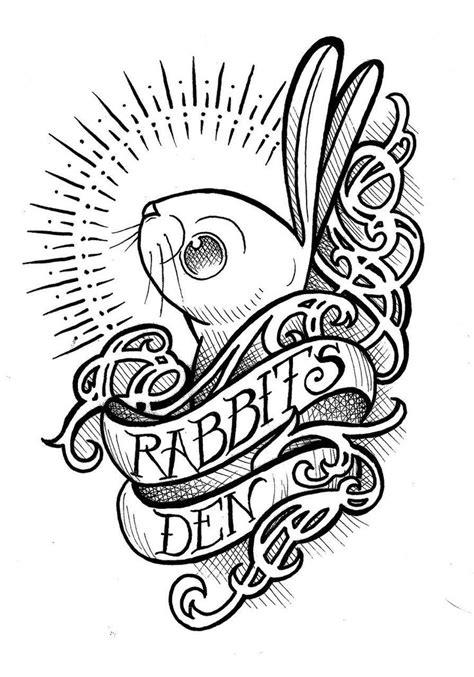 10 Rabbit Tattoo Designs, Samples And Ideas
