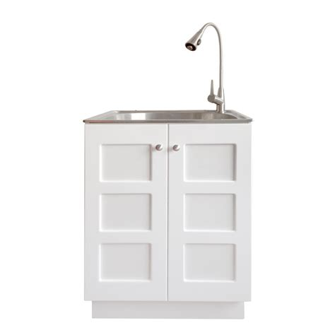 laundry sink with cabinet presenza all in one 24 2 in x 21 3 in x 33 8 in