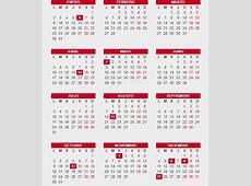Consulta el Calendario laboral 2017 festivos, puentes y