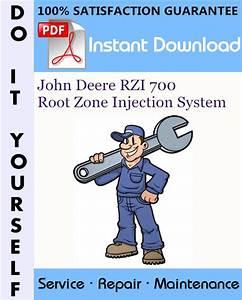John Deere Rzi 700 Root Zone Injection System Service