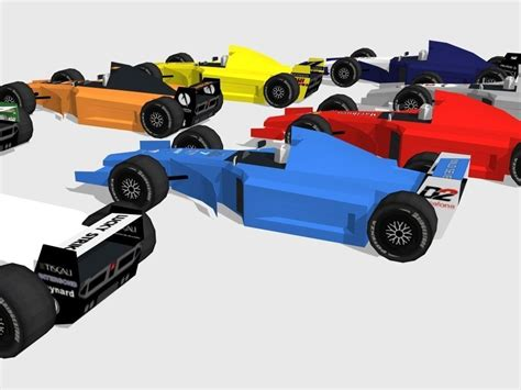 formula 1 3d model・cgtrader