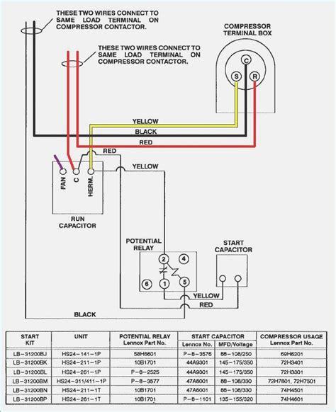 compressor start capacitor wiring diagram vivresaville