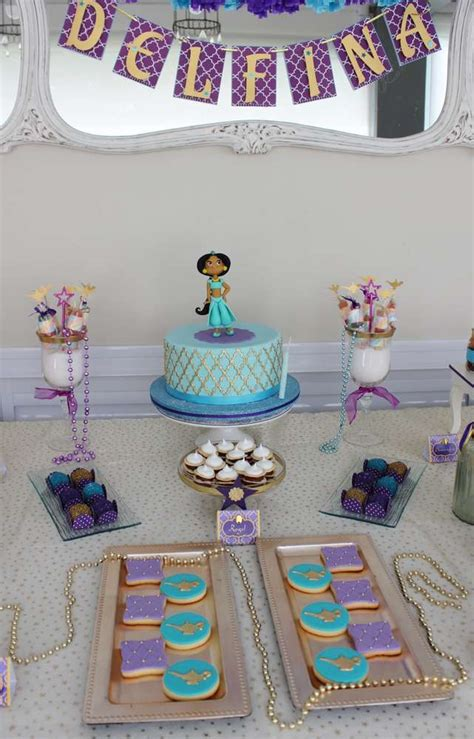 jasmine birthday party ideas photo    catch  party