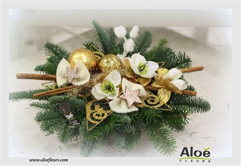 composition florale de noel sapin alo 233 fleurs23 composition florale avec bougies pour no 235 l