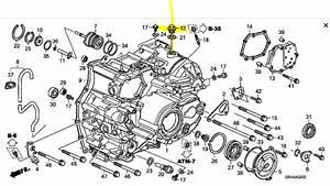 2006 Honda Pilot 3 5 V6 Automatic Transmission Where Is