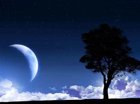 wallpapers moon nature wallpapers