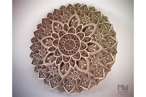 Mandala design 2 layered this free svg cutting file contains the following formats for example, use card stoc alphabet 3d layered mandala bundle svg. Mandala Alphabet Svg Free Design - Layered SVG Cut File