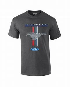 Ford Mustang T-Shirt Ford Mustang Pony & Stripes   eBay