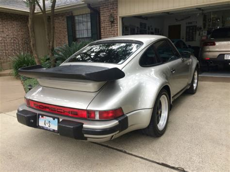 1984 Porsche 911 Turbo by 1984 Porsche 911 Turbo Look M491