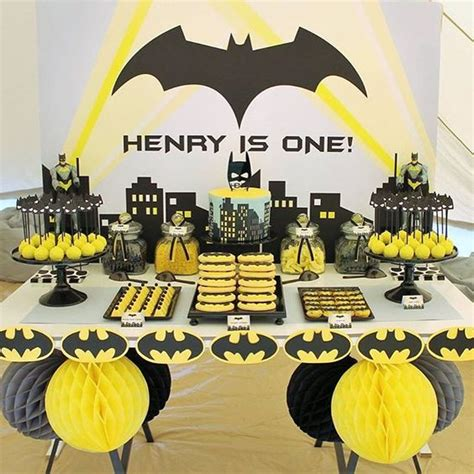 incredible batman party ideas pretty  party